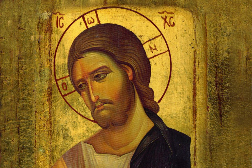 Jesus icon portrait